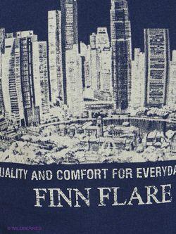 Футболка Finn Flare                                                                                                              синий цвет