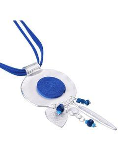 Ожерелья Модные истории                                                                                                              синий цвет