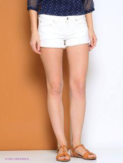 Шорты Pepe Jeans London                                                                                                              белый цвет