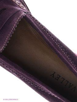 Мокасины Valley                                                                                                              фиолетовый цвет