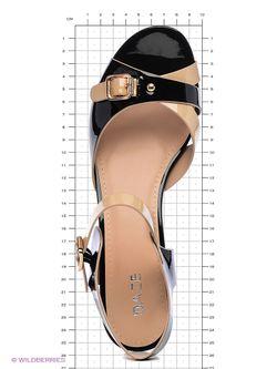 Туфли Daze                                                                                                              чёрный цвет