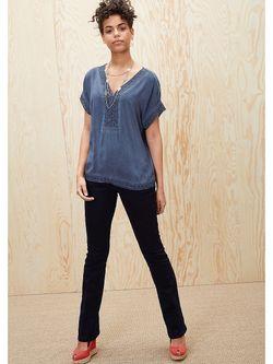 Блузки s.Oliver                                                                                                              синий цвет