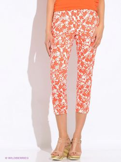 Брюки Sisley                                                                                                              оранжевый цвет