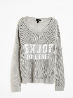 Пуловеры Jennyfer                                                                                                              серый цвет
