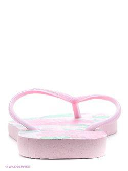 Шлепанцы Havaianas                                                                                                              розовый цвет