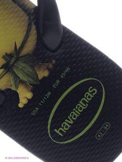 Шлепанцы Havaianas                                                                                                              чёрный цвет