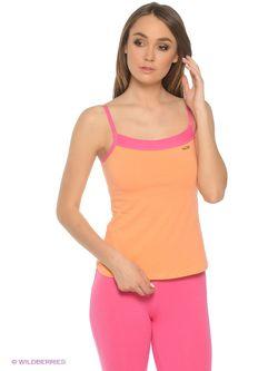 Майка Lui et Elle                                                                                                              оранжевый цвет
