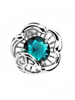 Серьги Bijoux Land                                                                                                              голубой цвет