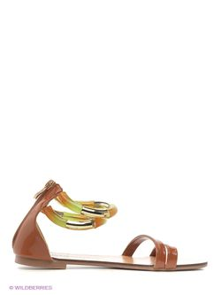 Босоножки Inario                                                                                                              коричневый цвет