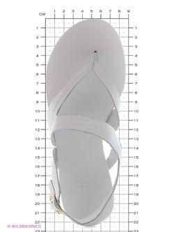 Босоножки Inario                                                                                                              белый цвет