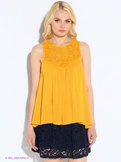 Блузки Oodji                                                                                                              оранжевый цвет