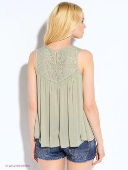 Блузки Oodji                                                                                                              зелёный цвет