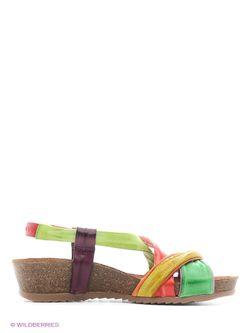 Сандалии El Tempo                                                                                                              зелёный цвет