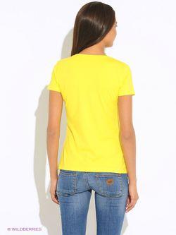 Футболка Flo&Jo                                                                                                              желтый цвет