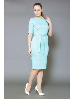 Платья Трика                                                                                                              Бирюзовый цвет