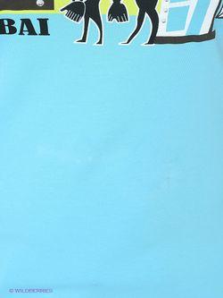 Футболка Braccialini                                                                                                              синий цвет
