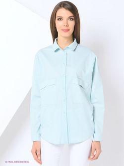 Рубашки Katya Erokhina                                                                                                              голубой цвет