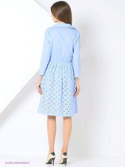 Платья Katya Erokhina                                                                                                              голубой цвет