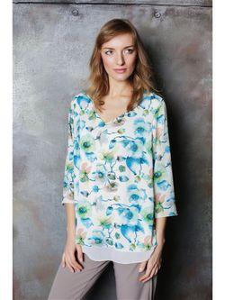 Блузки Vivo                                                                                                              Бирюзовый цвет