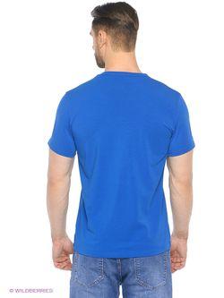 Футболка D.S                                                                                                              синий цвет