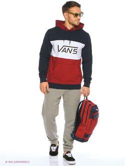 Толстовки Vans                                                                                                              красный цвет