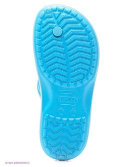Пантолеты Crocs                                                                                                              голубой цвет