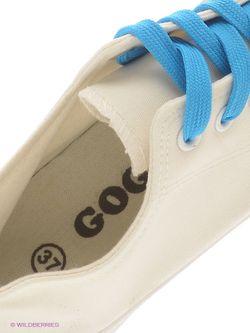 Кеды GOGC                                                                                                              белый цвет