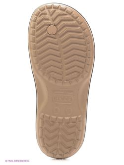 Пантолеты Crocs                                                                                                              бежевый цвет