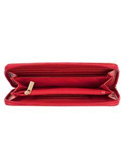 Портмоне Zinger                                                                                                              красный цвет