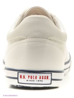 Кеды U.S. Polo Assn.                                                                                                              белый цвет