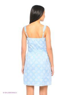 Платья ТВОЕ                                                                                                              голубой цвет