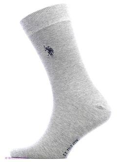 Носки U.S. Polo Assn.                                                                                                              серый цвет