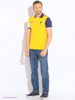 Джинсы U.S. Polo Assn.                                                                                                              голубой цвет