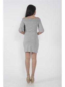 Платья FOR YOU                                                                                                              серый цвет