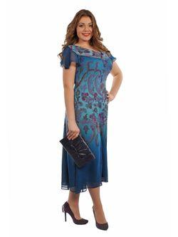 Платья Интикома                                                                                                              Бирюзовый цвет