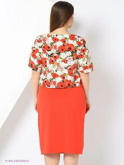 Платья V&V                                                                                                              красный цвет