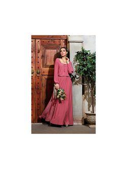 Платья Donna Saggia                                                                                                              розовый цвет