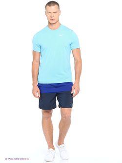 Шорты Nike                                                                                                              синий цвет