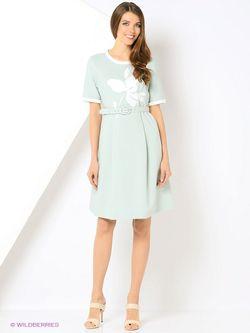 Платья LO                                                                                                              зелёный цвет