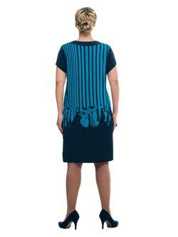 Платья Olsi                                                                                                              синий цвет