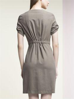 Платья Pompa                                                                                                              хаки цвет