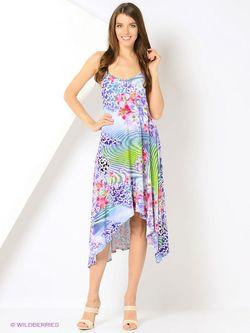 Платья Мадам Т Мадам Т                                                                                                              Салатовый, Лиловый цвет