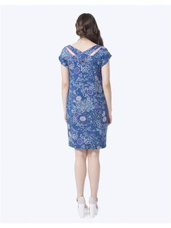 Платья LO                                                                                                              синий цвет