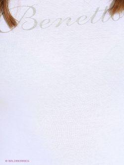 Лонгслив United Colors Of Benetton                                                                                                              белый цвет