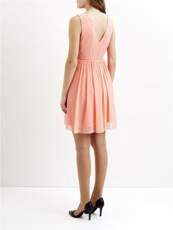 Платья Vila                                                                                                              розовый цвет