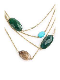 Ожерелья Exclaim                                                                                                              Золотистый цвет