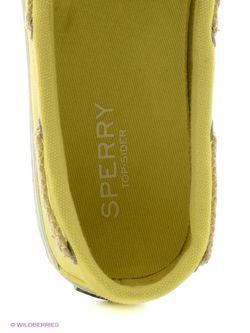 Мокасины SPERRY top-sider                                                                                                              желтый цвет