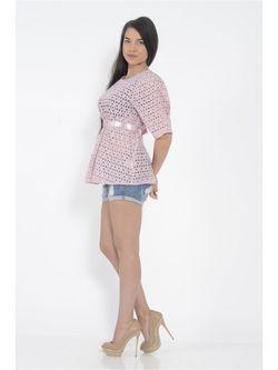 Блузки FOR YOU                                                                                                              розовый цвет