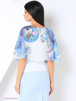 Блузки Adzhedo                                                                                                              голубой цвет