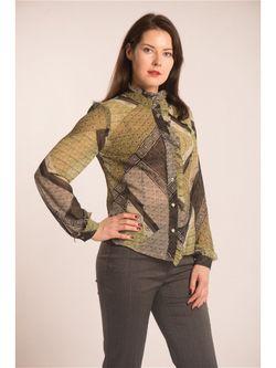 Блузки Essa                                                                                                              Оливковый цвет